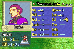Fire Emblem - Worst Paladin stats ever! - User Screenshot